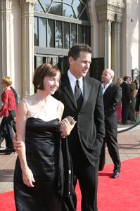 """""""Emmy - Creative Art Awards""""9-13-2003Tim Matheson and wifePhoto by Sam Kweskin - Image 21501_0115"""