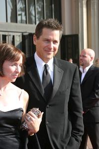 """""""Emmy - Creative Art Awards""""9-13-2003Tim Matheson and wifePhoto by Sam Kweskin - Image 21501_0116"""