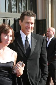 """""""Emmy - Creative Art Awards""""9-13-2003Tim Matheson and wifePhoto by Sam Kweskin - Image 21501_0117"""