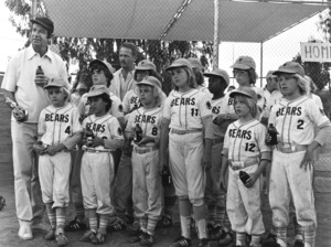 """Bad News Bears""Walter Matthau, Quinn Smith,George Gonzales, TatumO"