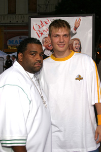 """""""The Fighting Temptations"""" Premiere9-17-2003Nick Carter and FriendPhoto by Sam Kweskin - Image 21512_0022"""