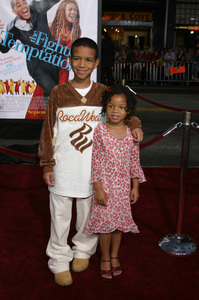 """The Fighting Temptations"" Premiere9-17-2003Chloe Baileyand Nigel WashingtonPhoto by Sam Kweskin - Image 21512_0073"