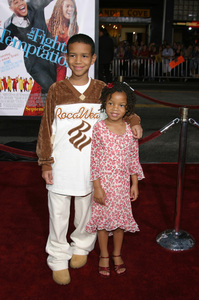 """The Fighting Temptations"" Premiere9-17-2003Chloe Baileyand Nigel WashingtonPhoto by Sam Kweskin - Image 21512_0074"