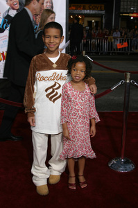 """The Fighting Temptations"" Premiere9-17-2003Chloe Baileyand Nigel WashingtonPhoto by Sam Kweskin - Image 21512_0075"