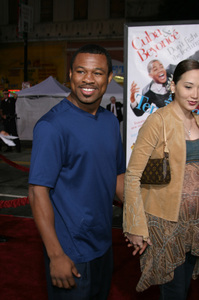 """""""The Fighting Temptations"""" Premiere9-17-2003Sugar Shane Mosley and wife JinPhoto by Sam Kweskin - Image 21512_0084"""