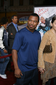 """The Fighting Temptations"" Premiere9-17-2003Sugar Shane Mosley and wife JinPhoto by Sam Kweskin - Image 21512_0085"