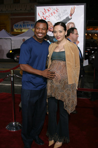 """The Fighting Temptations"" Premiere9-17-2003Sugar Shane Mosley and wife JinPhoto by Sam Kweskin - Image 21512_0087"