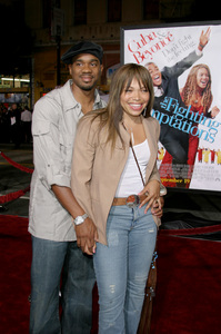 """""""The Fighting Temptations"""" Premiere9-17-2003Duane Martin and wife Tisha Campbell-MartinPhoto by Sam Kweskin - Image 21512_0161"""