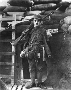 """""""Shoulder Arms""""Charlie Chaplin 1918** I.V. - Image 21542_0001"""