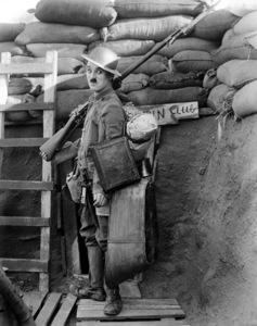"""""""Shoulder Arms""""Charlie Chaplin 1918**I.V. - Image 21542_0002"""
