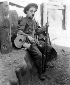 """""""Shoulder Arms""""Charlie Chaplin 1918**I.V. - Image 21542_0003"""
