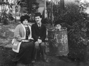 """""""Between Showers""""Charlie Chaplin and Ford Sterling1914**I.V. - Image 21544_0001"""