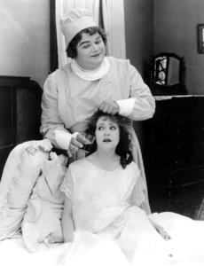 """Good Night Nurse""Roscoe ""Fatty"" Arbuckle &  Alice Lake1918 Paramount**I.V. - Image 21547_0001"