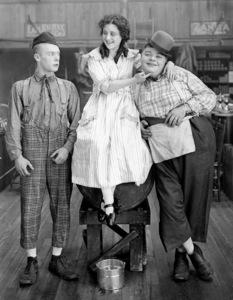 """The Butcher Boy""Roscoe ""Fatty"" Arbuckle, Al St. John, & Josephine Stevens1917 Paramount**I.V. - Image 21553_0002"