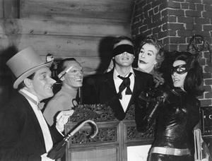 """Batman: The Movie""Adam West, Cesar Romero, Lee Meriwether, Burgess Meredith, Frank Gorshin1966 20th Century Fox - Image 21560_0005"