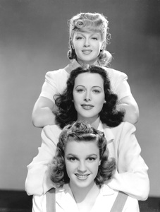 """Ziegfeld Girl""Lana Turner, Hedy Lamarr, Judy Garland1941 MGM**I.V. - Image 21583_0003"