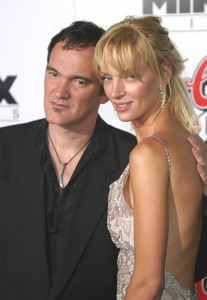 """Kill Bill Vol. 1"" Premiere09/29/03Quentin Tarantino & Uma Thurman  Graumans Chinese Theater Hollywood, CAMPTV - Image 21590_0135"
