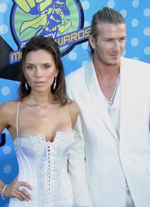 """MTV Movie Awards"" 05/31/03Victoria & David BeckhamMPTV - Image 21590_0413"