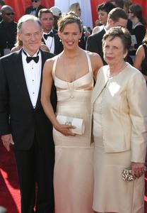 """""""55th Annual Primetime Emmy Awards"""" 9/21/03Jennifer Garner & parentsMPTV  - Image 21590_0755"""