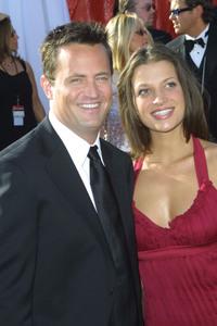 """55th Annual Primetime Emmy Awards"" 9/21/03Matthew Perry & Rachel DunnMPTV  - Image 21590_0794"