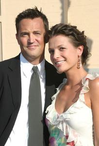 """55th Emmy Creative Art  Awards"" 09/13/03Matthew Perry & Rachel Dunn MPTV - Image 21590_0798"