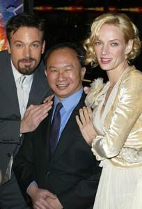 """Paycheck"" Premiere 12/18/03Ben Affleck,John Woo & Uma ThurmanMPTV - Image 21590_0854"