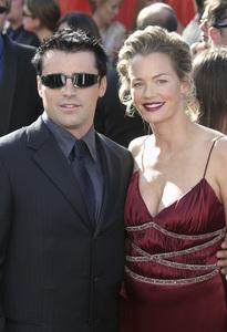 """55th Annual Primetime Emmy Awards""9-21-03Matt LeBlanc and wife MelissaMPTV/G.W. - Image 21590_0859"