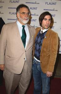 """Spun"" Premiere 3-17-03Francis Ford Coppola & Jason SchwartzmanMPTV - Image 21590_0908"