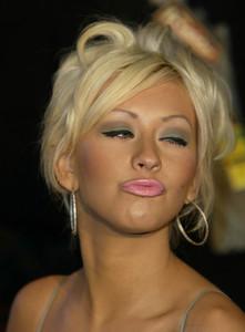 """Vanity Fair Post Oscar Party""Christina AguileraMorton"