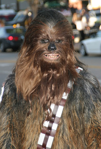 """""""Star Wars Episode lll: Revenge of the Sith"""" (Premiere)Chewbacca 05/12/05Mann Village Theatre Westwood California  - Image 21590_1024"""