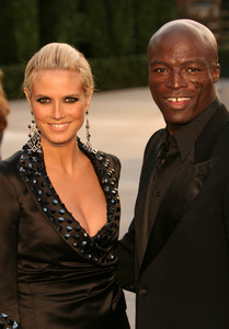 """Vanity Fair Post Oscar Party""Heidi Klum & Seal  02/27/05Morton"