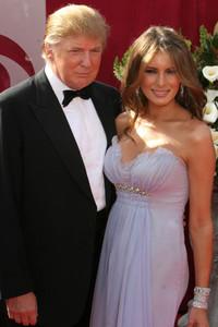 """The 57th Annual Primetime Emmy Awards""Donald Trump, Melania Knauss09-18-2005 / Shrine Auditorium / Los Angeles, CA - Image 21590_1110"