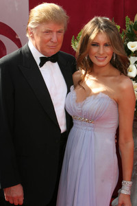 """The 57th Annual Primetime Emmy Awards""Donald Trump, Melania Knauss09-18-2005 / Shrine Auditorium / Los Angeles, CA - Image 21590_1110"