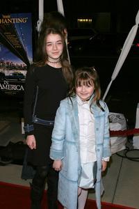 """In America"" Premiere 11-20-03Sarah & Emma BolgerPhoto By Sam Kweskin - Image 21607_0010"