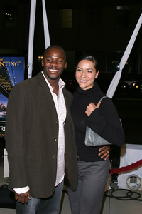 """In America"" Premiere 11-20-03Derek Luke and wifePhoto By Sam Kweskin - Image 21607_0049"