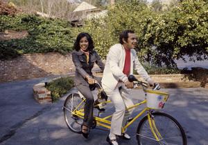 Diahann Carroll and Fredrick (Fredde) Jack Glusman1973© 1978 Gunther - Image 2170_0063