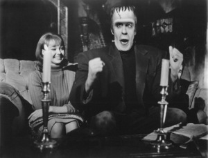"""Munster, Go Home""Debbie Watson, Fred Gwynne1966** Part of the Kevin Burns Collection - Image 21707_0001"