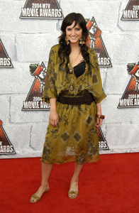 Ashlee Simpson arrives at the 2004 MTV Movie Awards at Sony Pictures Studios in Culver City, CA.June 5, 2004MPTV - Image 21709_0200