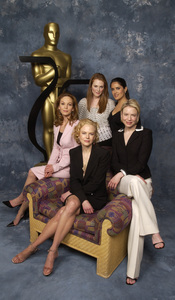"""75th Annual Academy Awards: Nominees Luncheon"" 03/10/03Diane Lane, Julianne Moore, Salma Hayek, Renee Zellweger, & Nicole KidmanPhoto by Jon Didier © 2003 AMPAS/MPTV - Image 21711_0023"