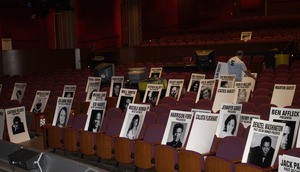 """""""75th Annual Academy Awards"""" 03/25/03Place CardsPhoto by Darren Decker © 2003 AMPAS/MPTV - Image 21711_0025"""