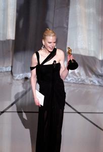 """75th Annual Academy Awards"" 03/25/03Nicole Kidman © 2003 AMPAS/MPTV - Image 21711_0027"