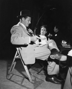 "Jack Carson and Joan Crawford during the making of ""Mildred Pierce""1945 - Image 2172_0021"