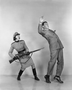 """Jack Carson and Eve Arden in """"The Doughgirls""""1944Photo by Longworth - Image 2172_0039"""