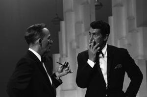 """""""The Bing Crosby Show"""" Bing Crosby, Dean Martin 10-27-1963 © 1978 Gene Trindl - Image 21780_0021"""