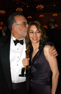 """76th Annual Academy Awards"" February 29, 2004Francis Ford Coppola & Sofia Coppola © 2004 AMPAS - Image 21781_0039"