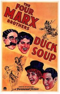 """Duck Soup""Poster1933 Paramount**I.V. - Image 21793_0001"