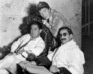 """Duck Soup""Leo McCary, Chico, Groucho Marx1933 Paramount**I.V. - Image 21793_0003"