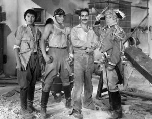 """Duck Soup""Chico Marx, Zeppo Marx, Groucho Marx & Harpo Marx1933 Paramount**I.V. - Image 21793_0006"