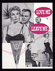 """""""Love Me or Leave Me""""Poster1955 MGM**I.V. - Image 21794_0001"""
