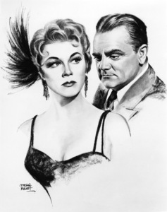 "Doris Day and James Cagney in ""Love Me or Leave Me""1955 MGMIllustration by Morr Kusnet** I.V. - Image 21794_0018"